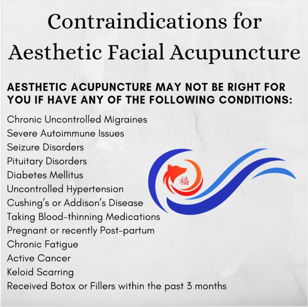 AcuFox Aesthetic System™ contraindications